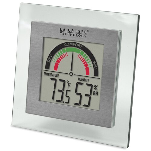 La Crosse Technology Comfort Meter and Temperature and Humdity Station
