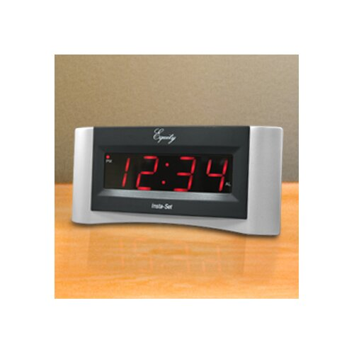 Equity Insta-Set Digital Alarm Clock