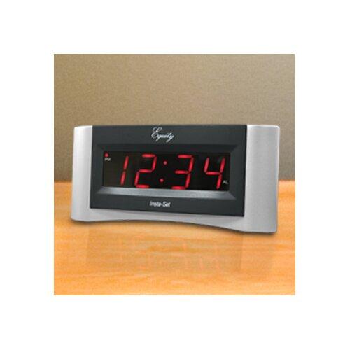 Equity Insta-Set Digital Alarm Clock