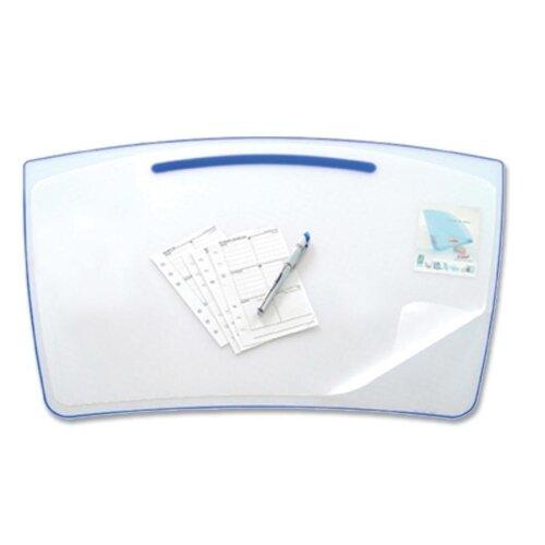 "Cep Desk Mat, Antiskid, 25-4/5""x17-3/5"", 1.10mm Thick, Ice Blue"