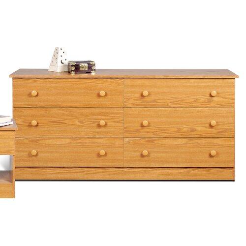 Prepac 6 Drawer Dresser