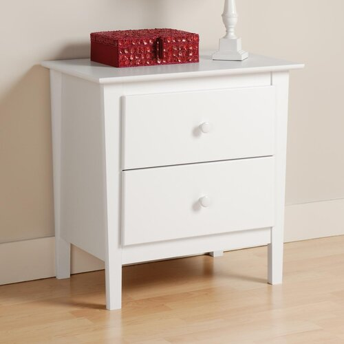 Prepac Berkshire 2 Drawer Nightstand