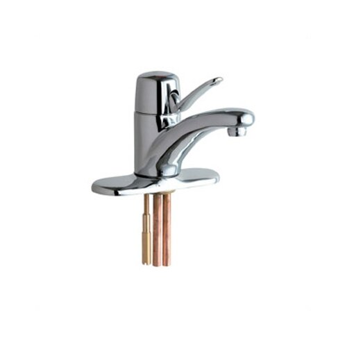 Chicago Faucets Marathon Single Hole Bathroom Faucet with Single Lever Handle