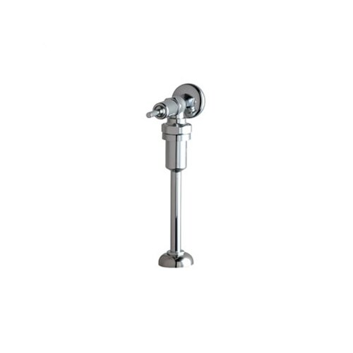 Chicago Faucets 732 NAIAD Self-Closing Exposed Urinal Flush Valve with Vacuum Breaker and Lever Handle in Chrome
