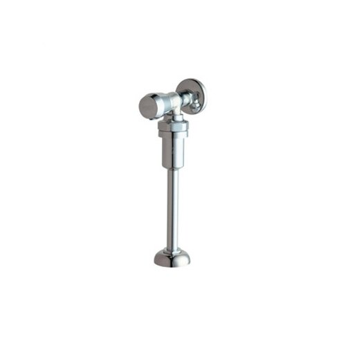 Chicago Faucets 732 MVP Metering Exposed Urinal Flush Valve with Metering Handle in Chrome