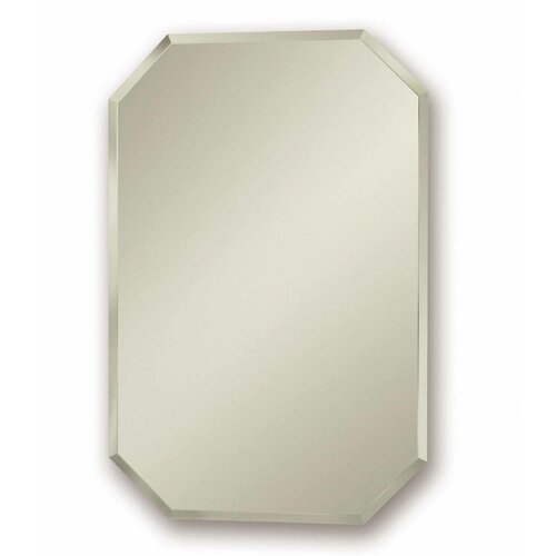 Broan 18 x 27 recessed beveled edge medicine cabinet for Bathroom medicine cabinets 14 x 18