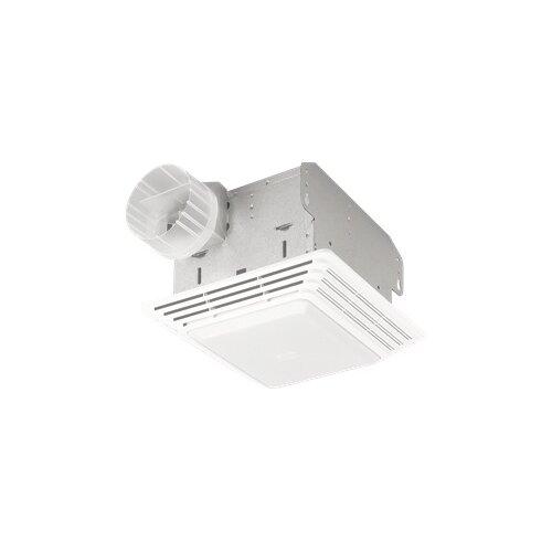 Heavy Duty 80 CFM Bathroom Exhaust Fan with Light