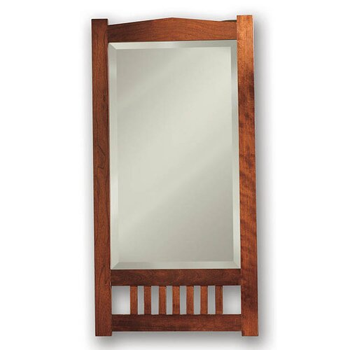 Mission Recessed Beveled Mirror