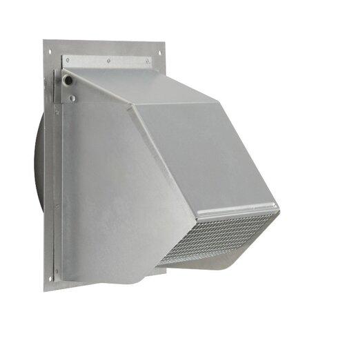 "Kitchen Exhaust Vent Wall Cap: 10"" Wall Cap For Range Hood And Bath Ventilation Fan"