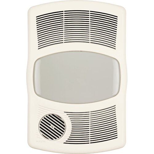 Broan 100 cfm exhaust bathroom fan with heater on popscreen for Panasonic 100 cfm bathroom fans