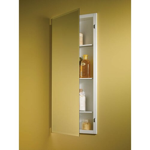 "Broan Nutone Horizon 16"" x 36"" Recessed Beveled Edge Medicine Cabinet"