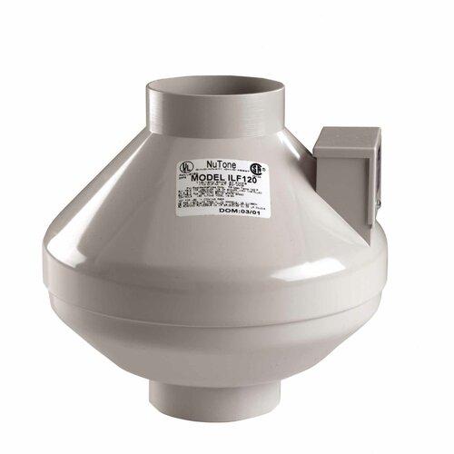 Broan Nutone 120 CFM Remote In-Line Fan
