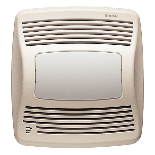 Broan Nutone 110 CFM Energy Star Bathroom Fan with Humidity