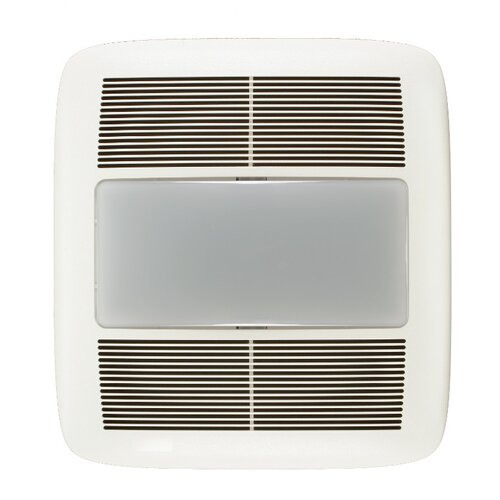 Broan Nutone Ultra Silent 110 CFM Energy Star Quietest Bathroom Fan with Fluorescent Light
