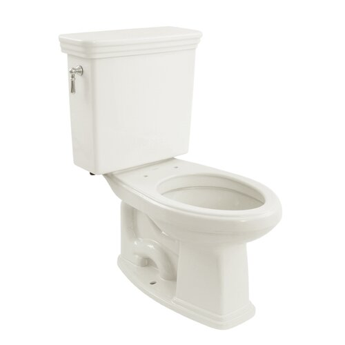 Promenade Eco 1.28 GPF Elongated 2 Piece Toilet with SanaGloss Glaze