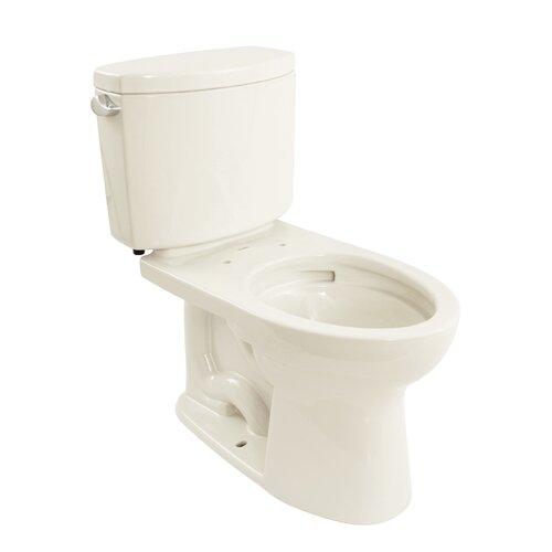 Drake II 1.28 GPF Elongated 2 Piece Toilet with SanaGloss Glaze