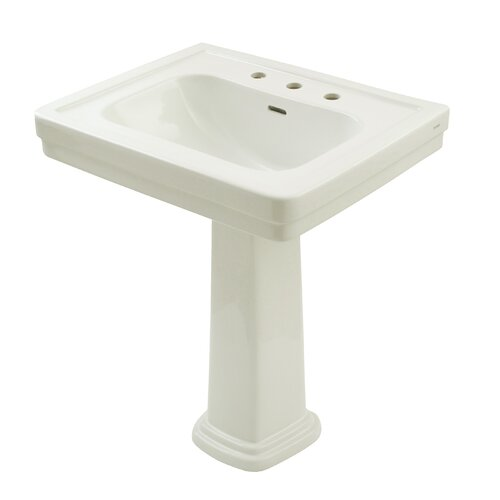 Bathroom Sink With Pedestal : Promenade Pedestal Bathroom Sink Wayfair