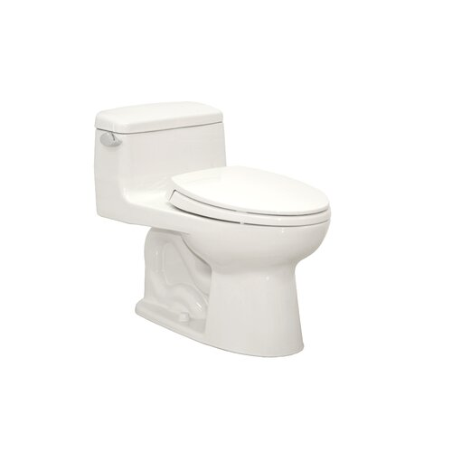 Toto Supreme Power Gravity Low Consumption 1.6 GPF Elongated 1 Piece Toilet