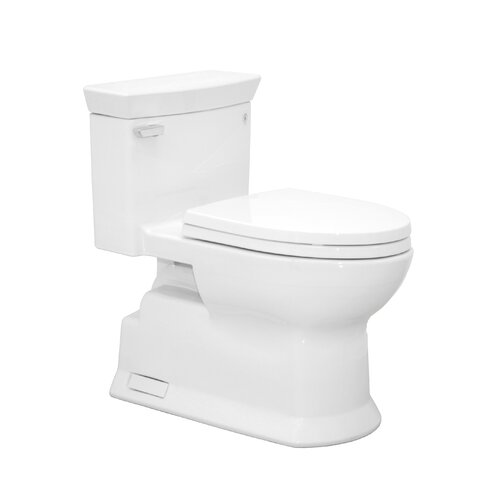 Toto Soirée Eco 1.28 GPF Elongated 1 Piece Toilet with SanaGloss