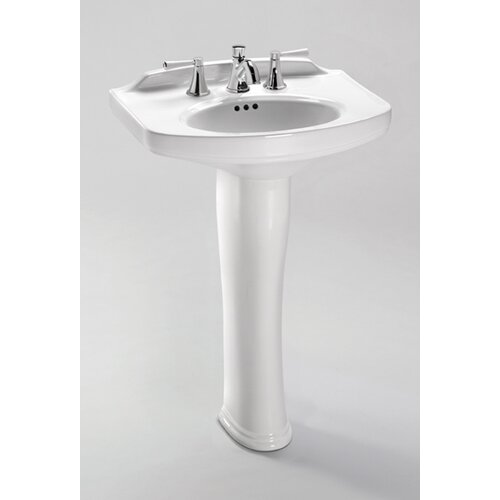 Dartmouth Pedestal Bathroom Sink with Faucet