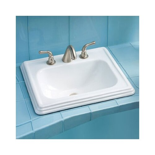 Toto Promenade ADA Compliant Self Rimming Bathroom Sink