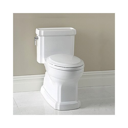 Toto Guinevere ADA Compliant 1.28 GPF Round 1 Piece Toilet with SanaGloss Glazing