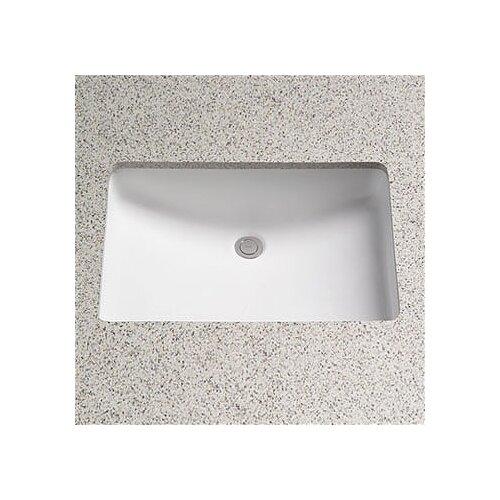 Toto ADA Compliant Undercounter Bathroom Sink with SanaGloss Glazing