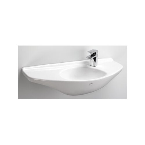 Wall Mount Bathroom Sink with SanaGloss Glazing