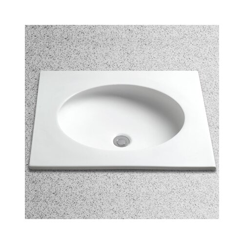 Toto Curva Undercounter Bathroom Sink with Overflow