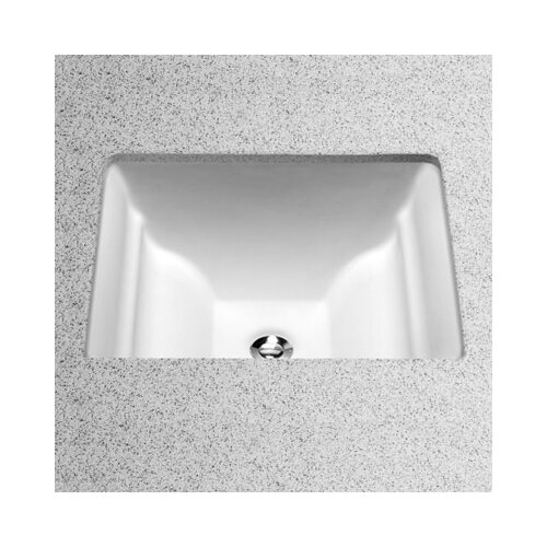 Toto Rimless Undermount Bathroom Sink With Sanagloss