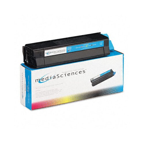 Media Sciences MS5000C (42127403) Toner Cartridge, High-Yield, Cyan