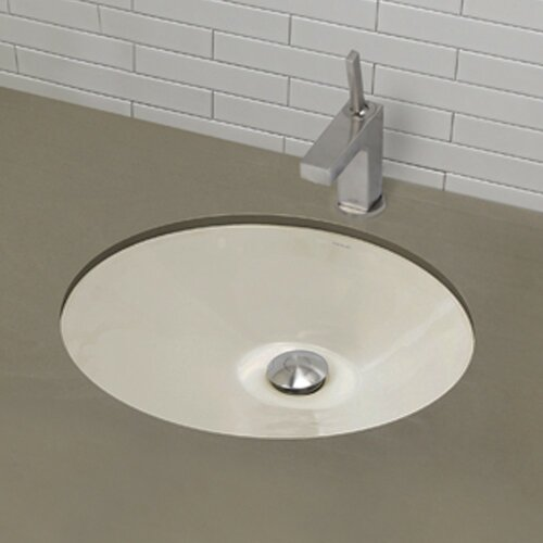 DecoLav Classically Redefined Oval Undermount Bathroom Sink