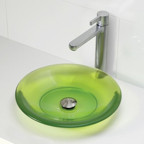 Incandescence Round Vessel Bathroom Sink