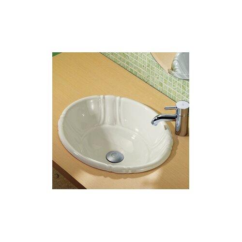 DecoLav Classically Redefined Drop-In Bathroom Sink