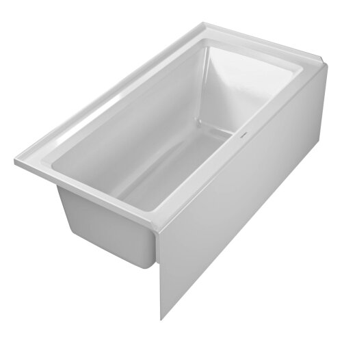 duravit architec soaking bathtub reviews wayfair