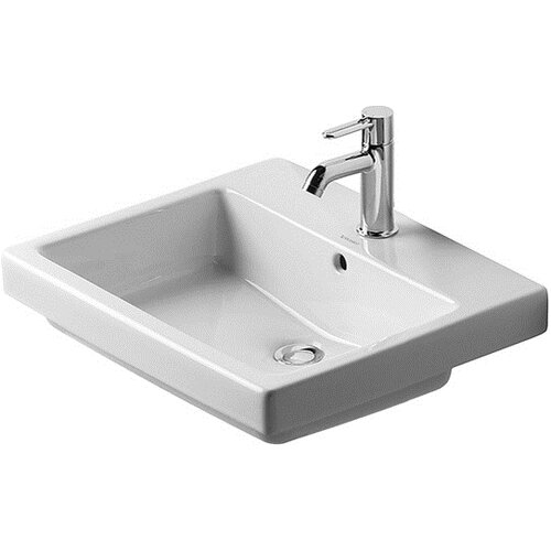 Vero Semi Recessed Bathroom Sink