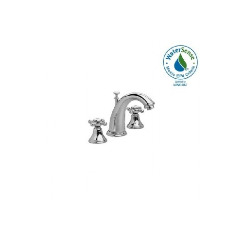 Classic Widespread Bathroom Faucet with Double Cross Handles