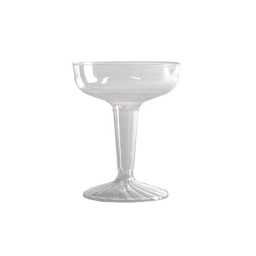 WNA Comet Comet Plastic Champagne Glass in Clear