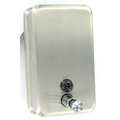 Franklin Brass Vertical Liquid Soap Dispenser in Stainless Steel