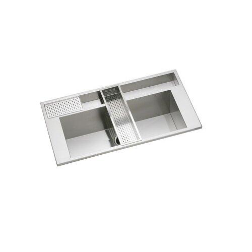 "Elkay Avado 40"" x 22"" Package Kitchen Sink"