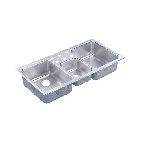 """Elkay Gourmet 43"""" x 22"""" Kitchen Sink"""