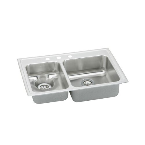 "Elkay Gourmet 33"" x 22"" x 6.13"" Kitchen Sink"