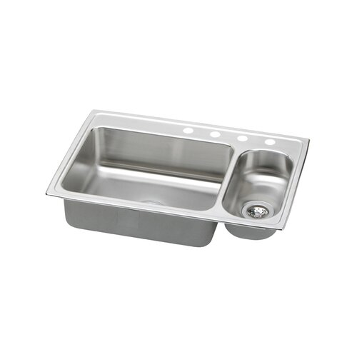 "Elkay Gourmet 33"" x 22"" Pacemaker Kitchen Sink"