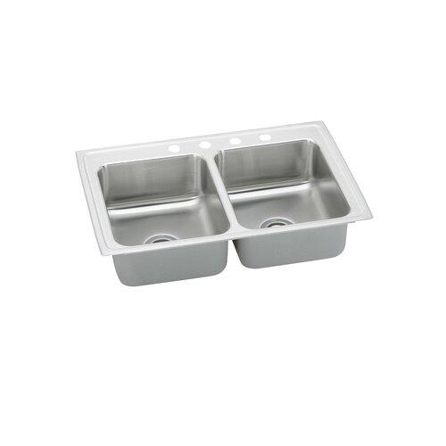 """Elkay Gourmet 33"""" x 22"""" x 7.5"""" Kitchen Sink"""