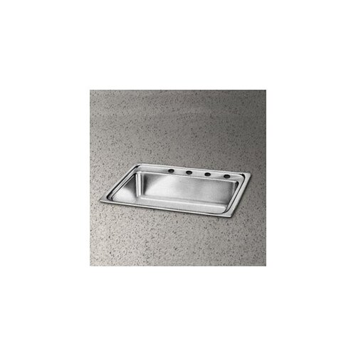 "Elkay Pacemaker 33"" x 22"" Single Bowl Kitchen Sink"