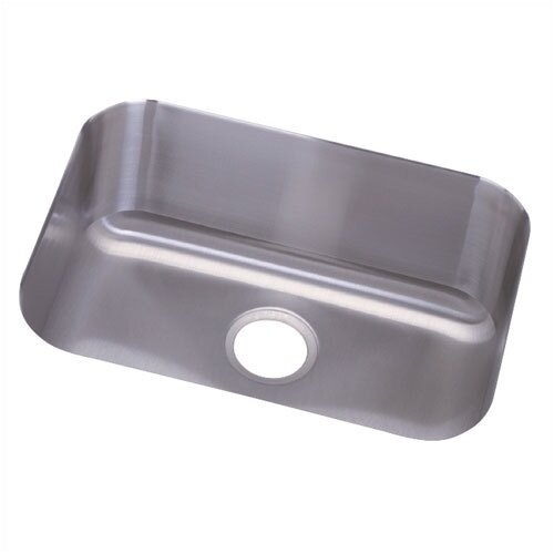"Elkay Dayton 23.5"" x 18.25"" Deep Single Bowl Undermount Kitchen Sink"