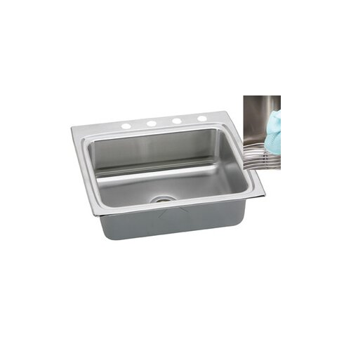 "Elkay Gourmet 25"" x 22"" x 10.13"" E-Dock Kitchen Sink"