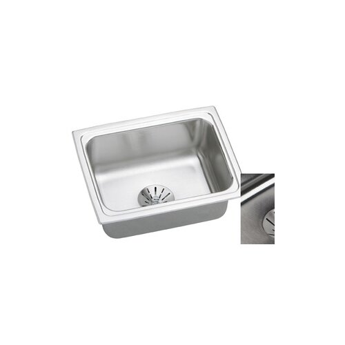 "Elkay Gourmet 25"" x 19.5"" Perfect Drain Kitchen Sink"