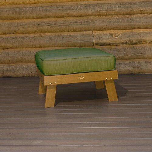 Highwood USA Pocono Ottoman with Cushion