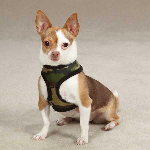 Fabric Camo Dog Harness